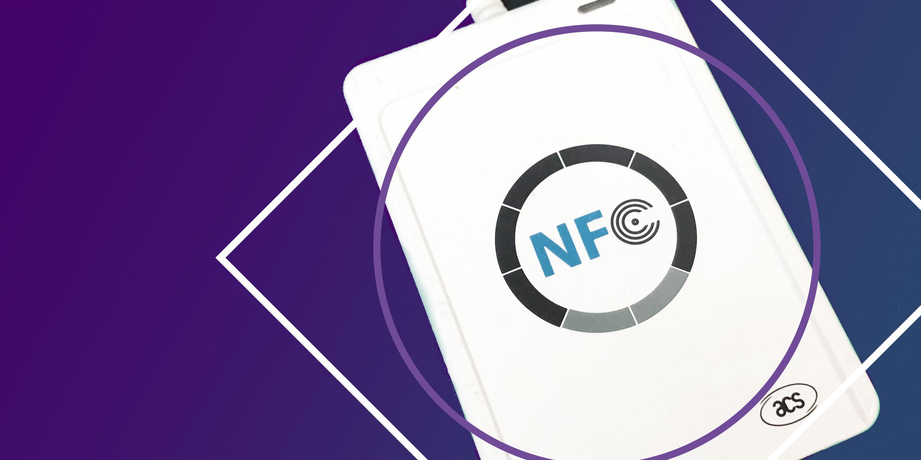 NFC-läsaren acr122u